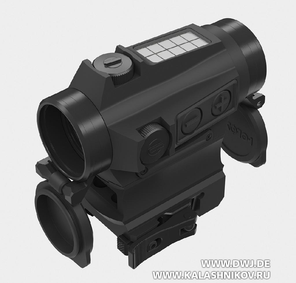 Пистолет-карабин Stribog SP9 A1.  прицел Holosun 515 C-M