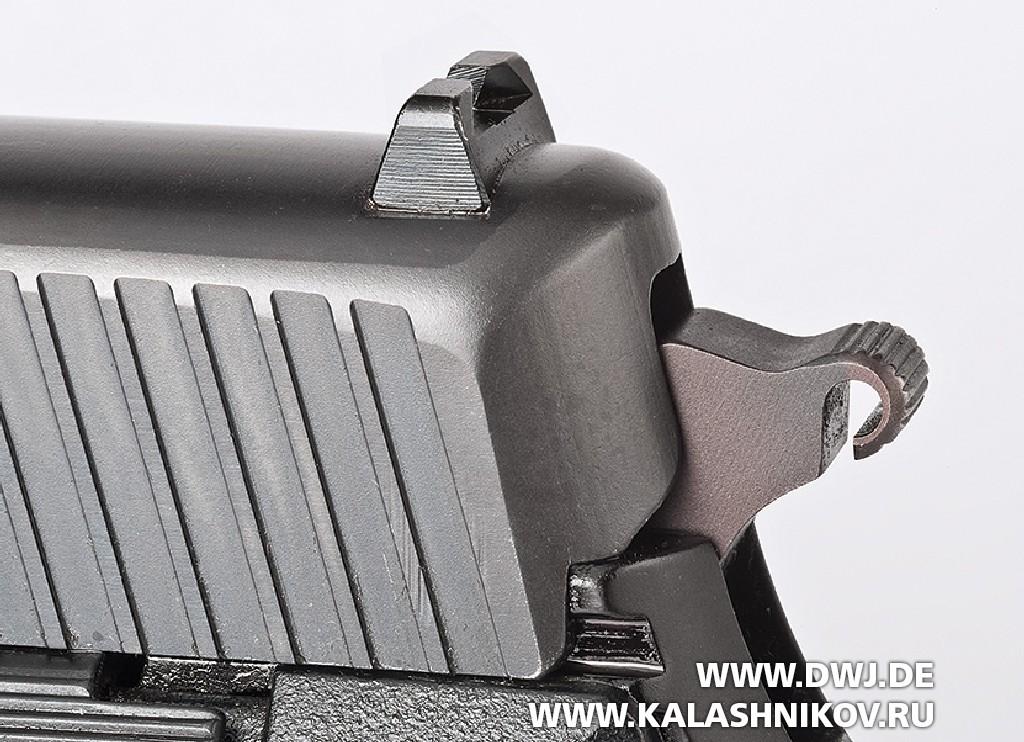 Пистолет SIG Sauer Р6 «деформированная шпора» курка.