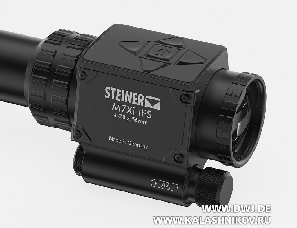 «Мозг» оптического прицела Stiner M7Xi IFS 4–28x56
