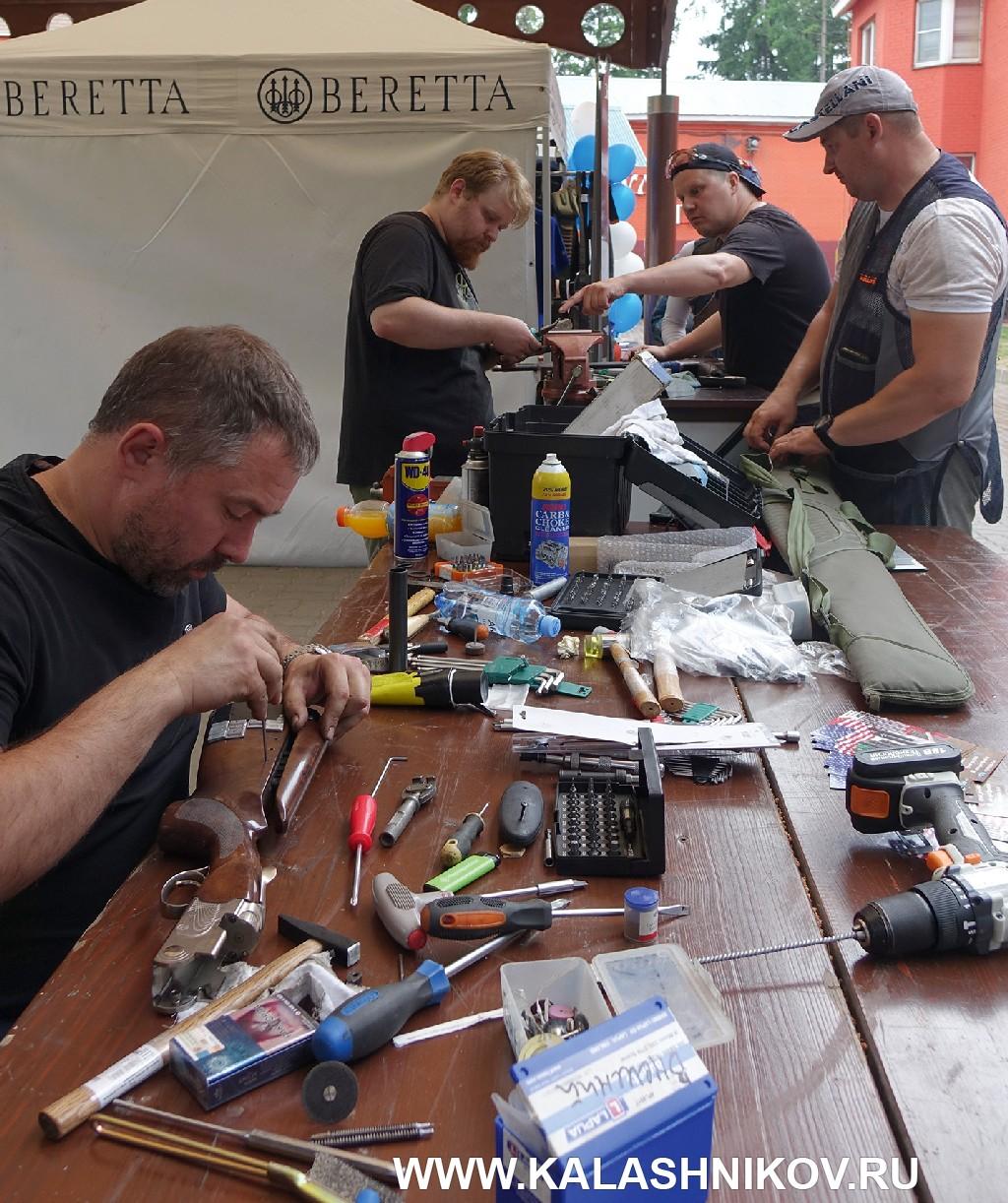 Оружейники на кубке Beretta
