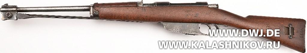 Итальянская короткая винтовка M38 Carcano