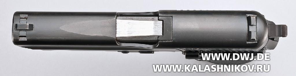 Пистолет SIG Sauer Р6 вид сверху