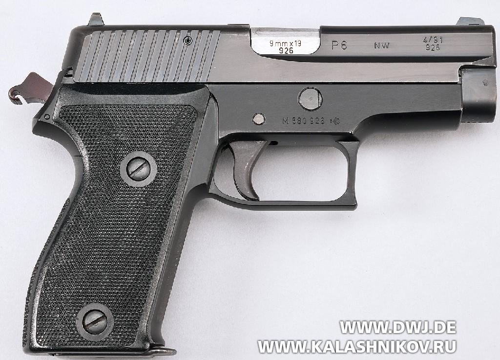 Пистолет SIG Sauer Р6 вид справа