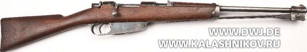 Итальянская короткая винтовка Moschetto M38