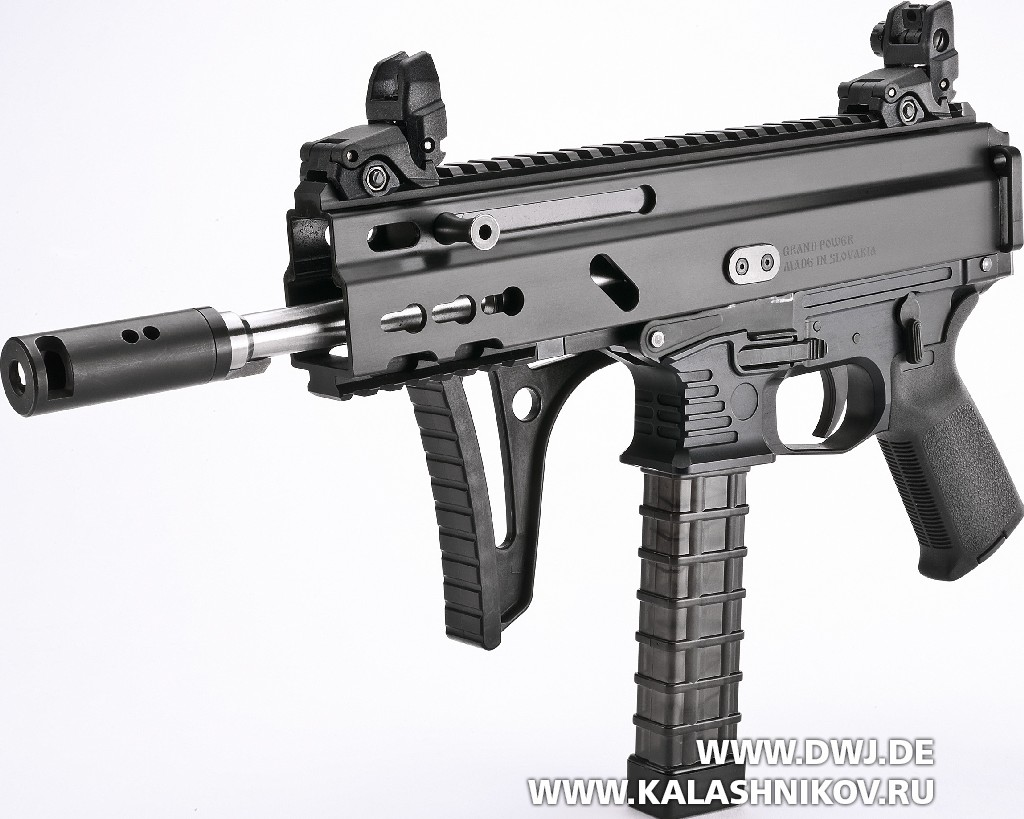 Пистолет-карабин Stribog SP9 A1