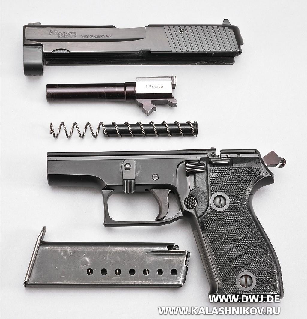 Пистолет SIG Sauer Р6. Неполная разборка
