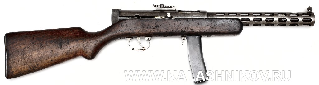 пистолет-пулемёт Дегтярёва обр. 1934 г.