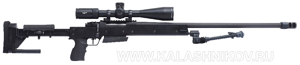 Магазинная винтовка Zastava LK M07AS Match калибра 7,62х54R