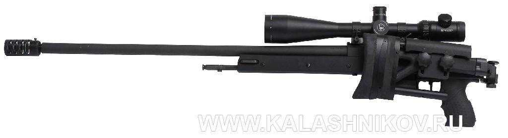 Магазинная винтовка Zastava LK M07AS Match калибра .308 Win. со сложенным прикладом
