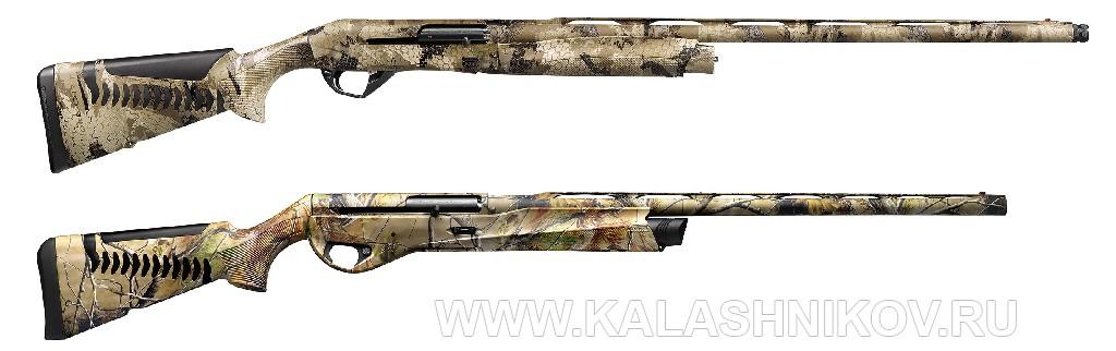Ружья Benelli SBE III и Vinci APG HD в камуфлированном исполнении