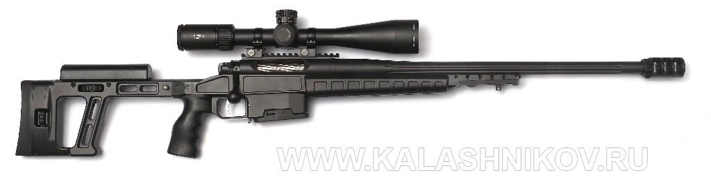 Охотничий карабин Orsis Hunter SE De Luxe в ложе винтовки Т-5000