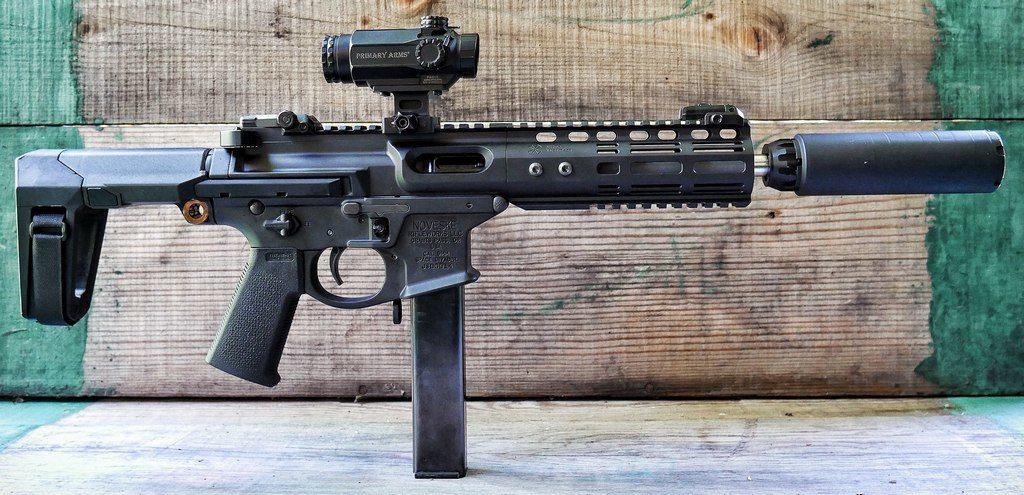 Пистолет-карабин, Noveske Space Invader, прицел, PCC