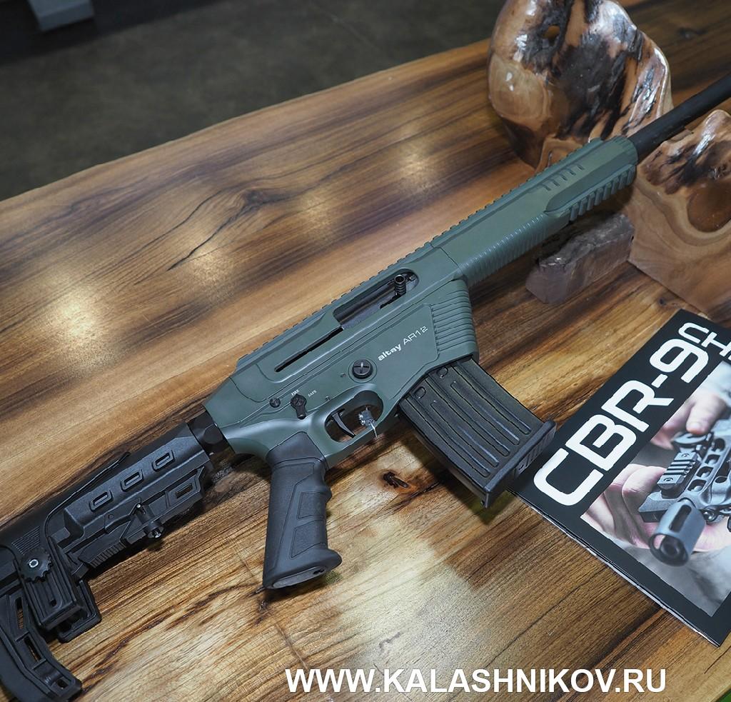 «Тактический» полуавтомат AKKAR Altay AR12на выставке Prohunt 2019