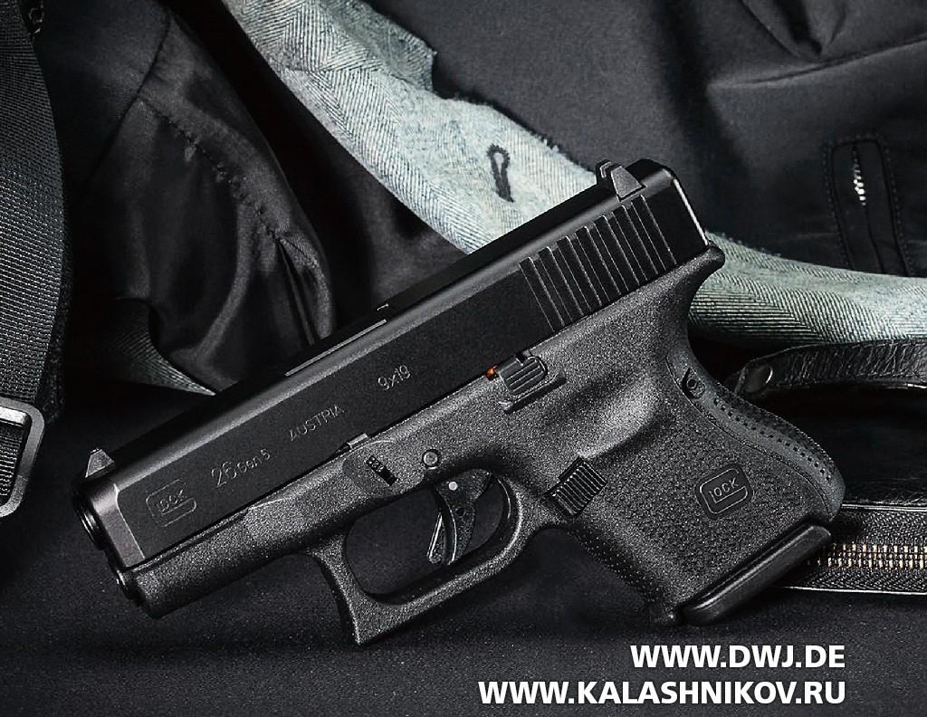 Пистолет Glock 26, Baby-Glock. Фото 3
