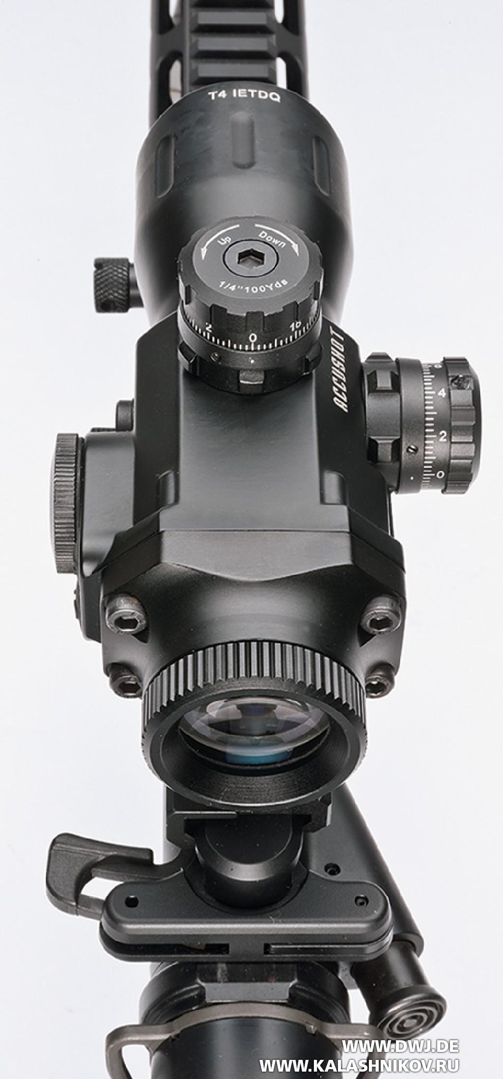 Винтовка HKMR223 А3. Прицел UTG Compact Prismatic 4x32 T4