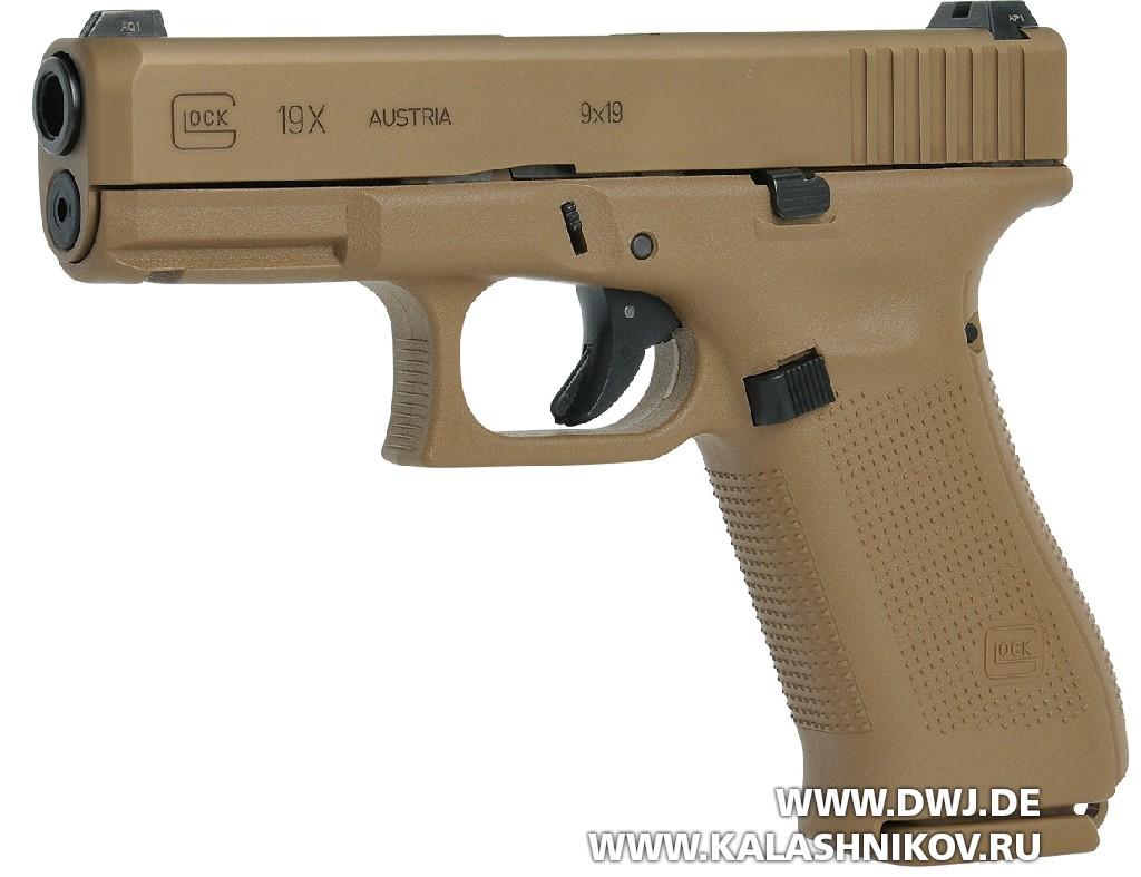 Пистолет Glock19Х