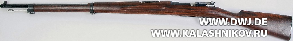 Шведская винтовка m/1894, авторства Бертиля Дибека