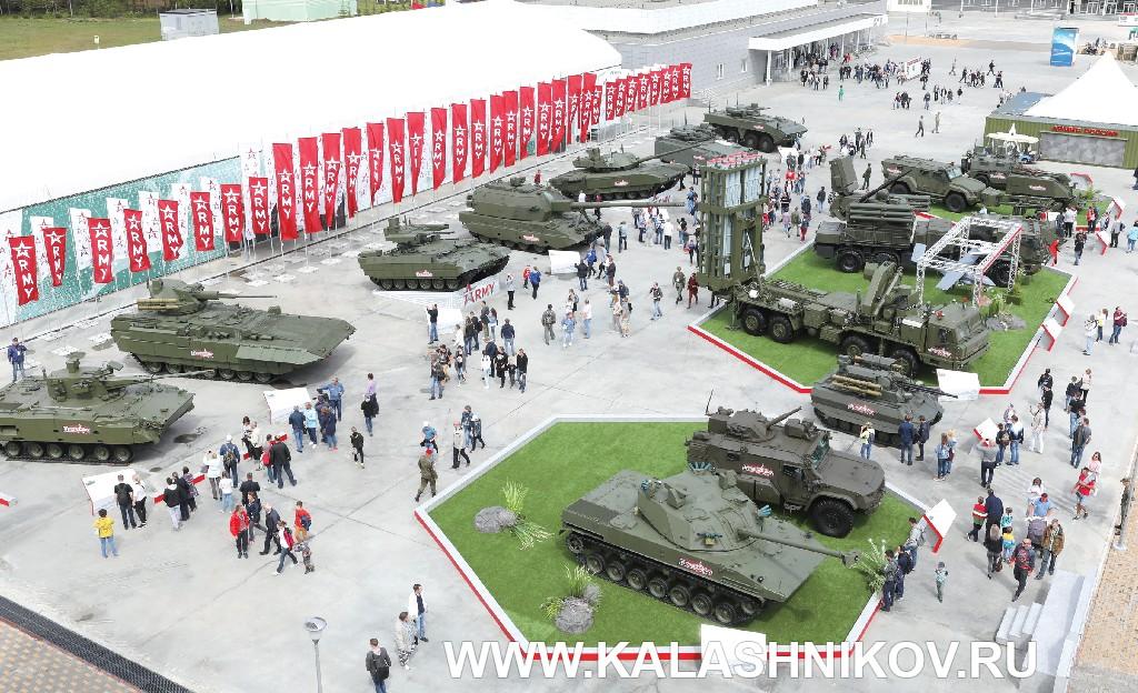 Выставочные площадки Армия 2019