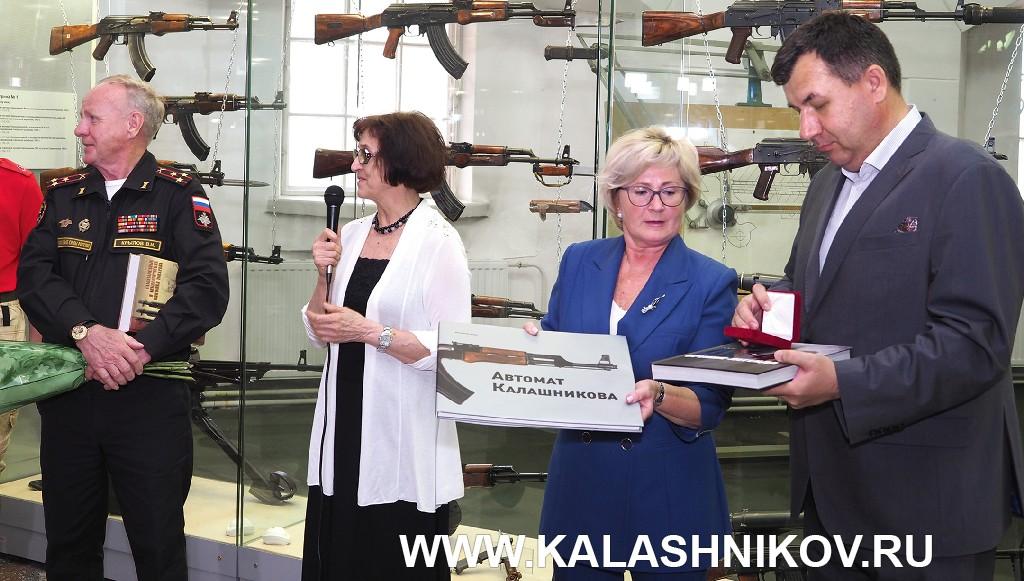 Открытие обновлённой экспозиции зала М. Т. Калашникова в артмузее (ВИМАИВиВС)