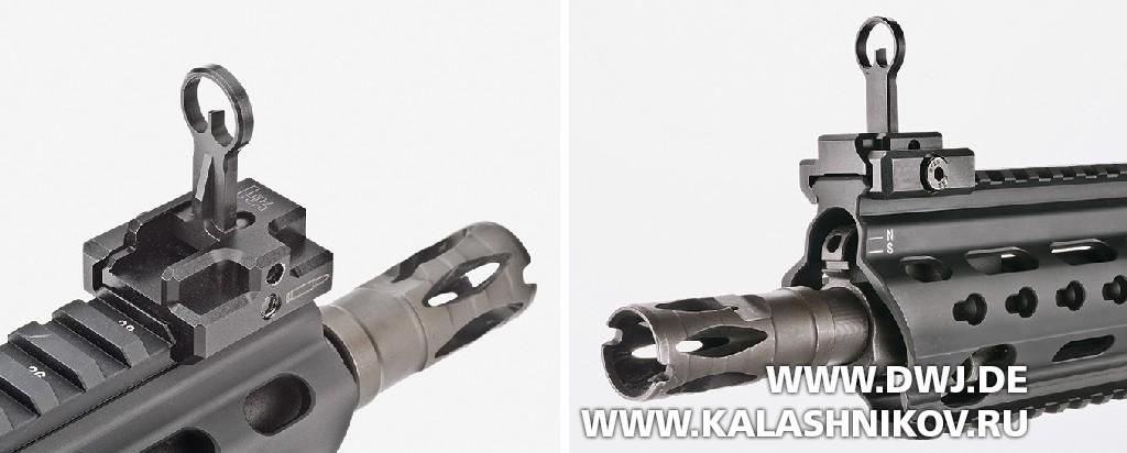 Прицельные приспособления винтовки HKMR223 А3