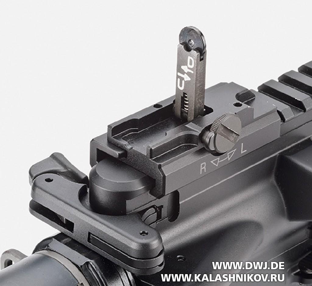 Винтовка HKMR223 А3. Целик