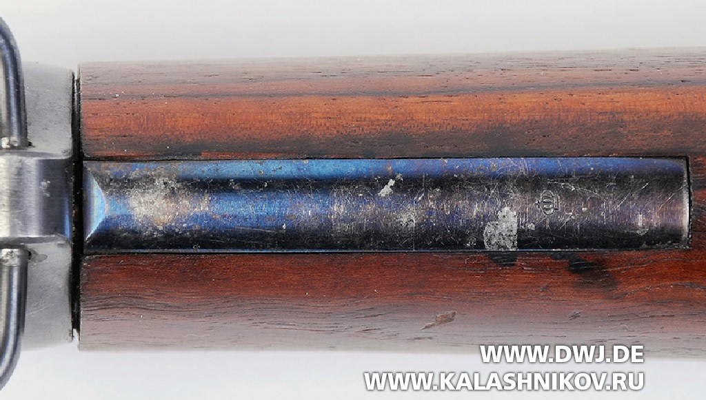 Шведская винтовка m/96, пружина ложевого кольца