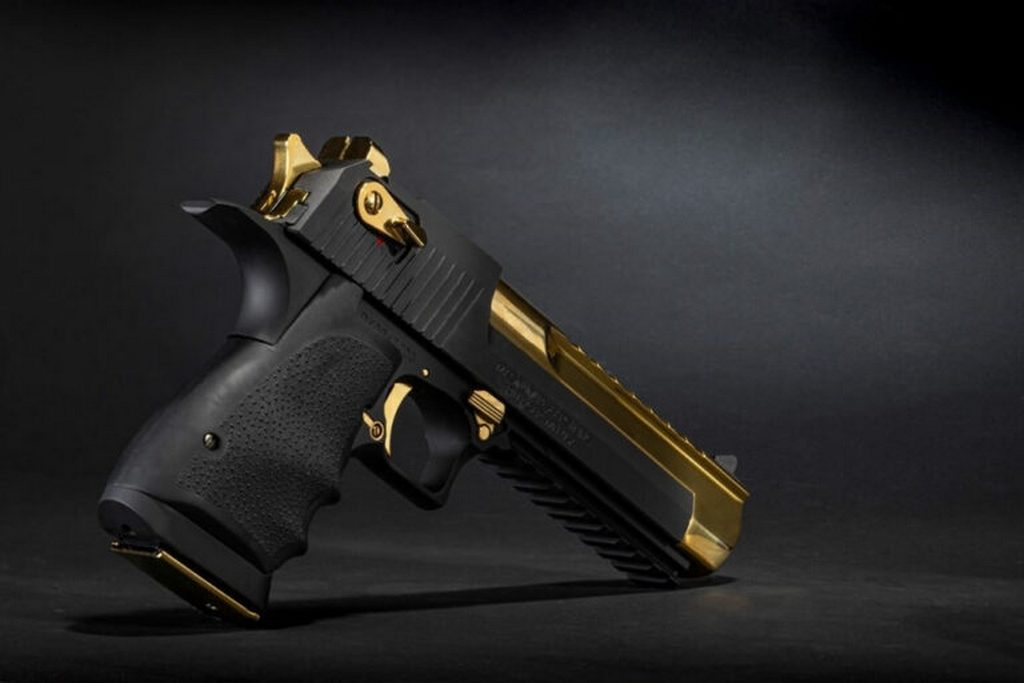 Desert Eagle, Black & Titanium Gold