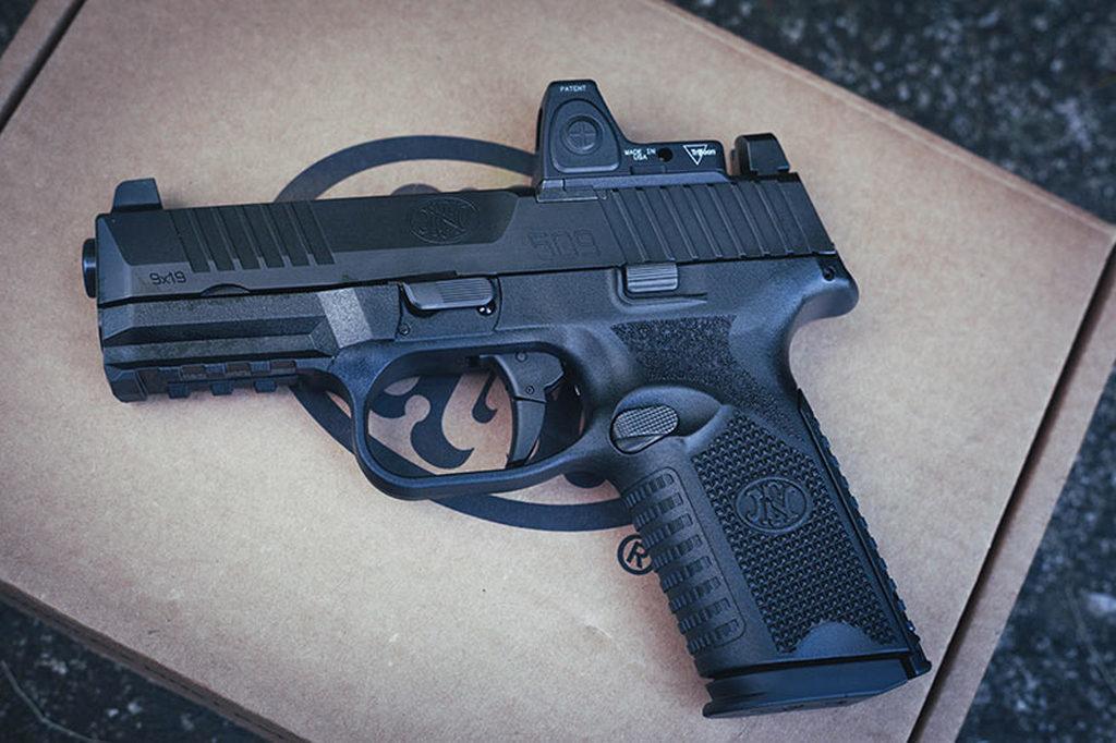 FN509 Midsize MRD, red dot