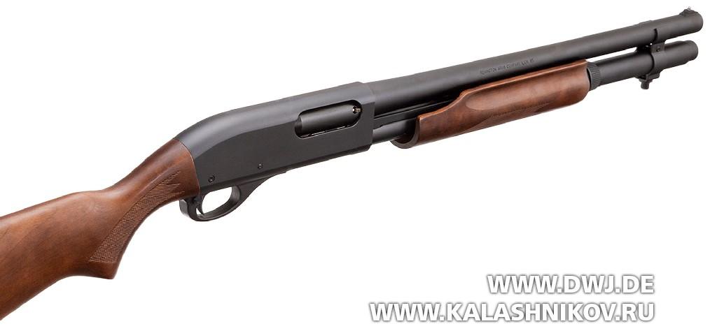 Помповое ружье Remington 870 Hardwood Home Defense с удлиненным магазином