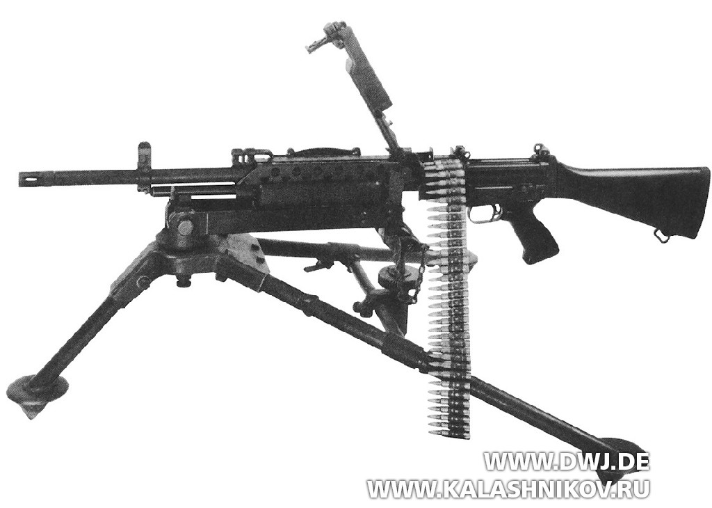 ручной пулемёт 63А.