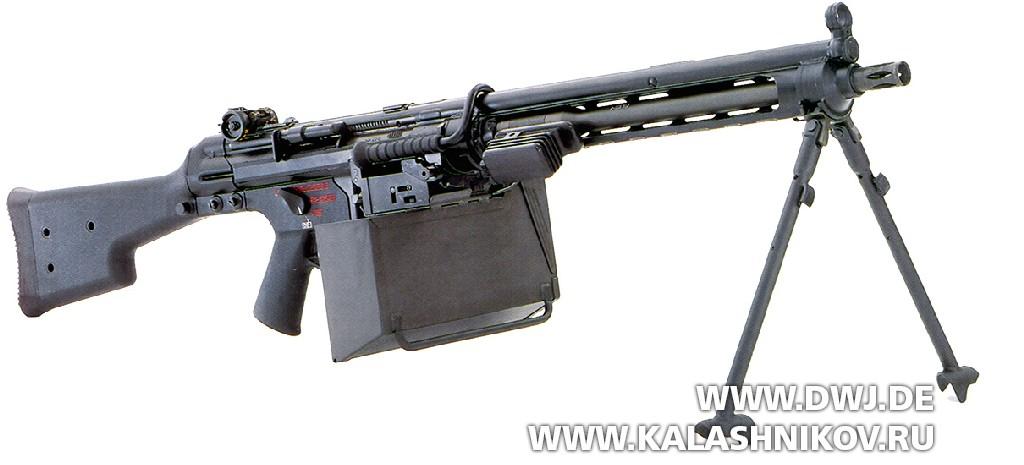 пулемёт Heckler & Koch XM262 калибра 5,56х45
