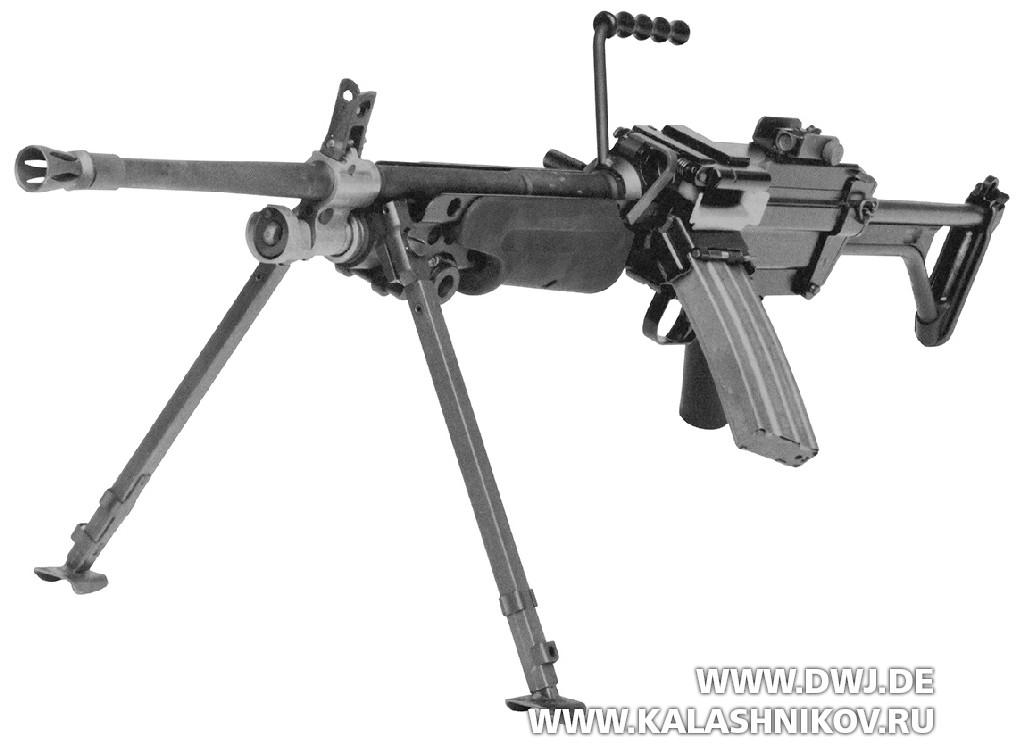 ручной пулемёт FN MINIMI (М249)