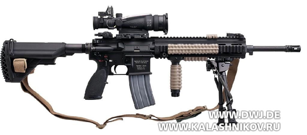 пулемёт HK416 калибра 5,56х45
