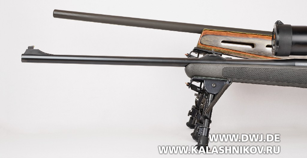 Сошки  6–9 и Harris 1A2LS на оружие