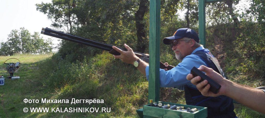 спортинг, Beretta 694, стендовая стрельба, выбор чемпионов