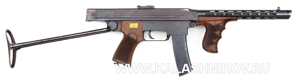 пистолет-пулемёт Калашникова 1942г.