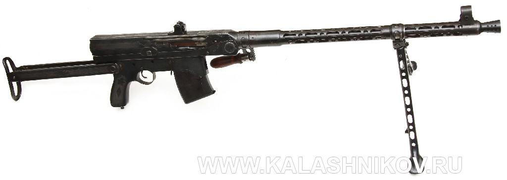 Опытный ручной пулемёт М. Т. Калашникова