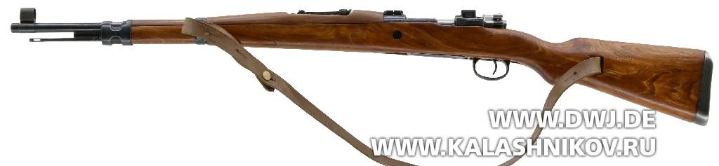 Винтовка Zastava M 48B. Вид слева