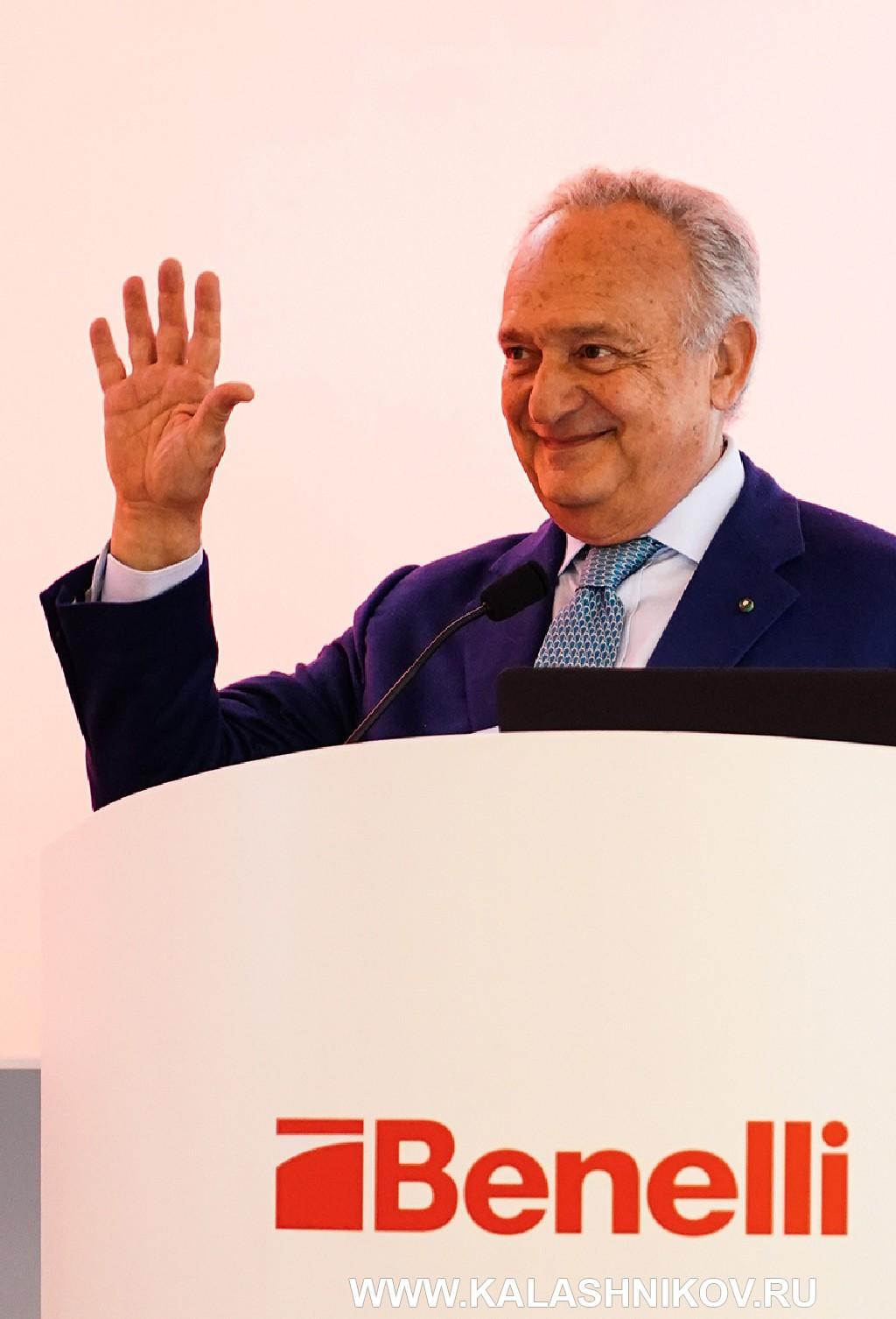 президент Benelli Луиджи Моретти