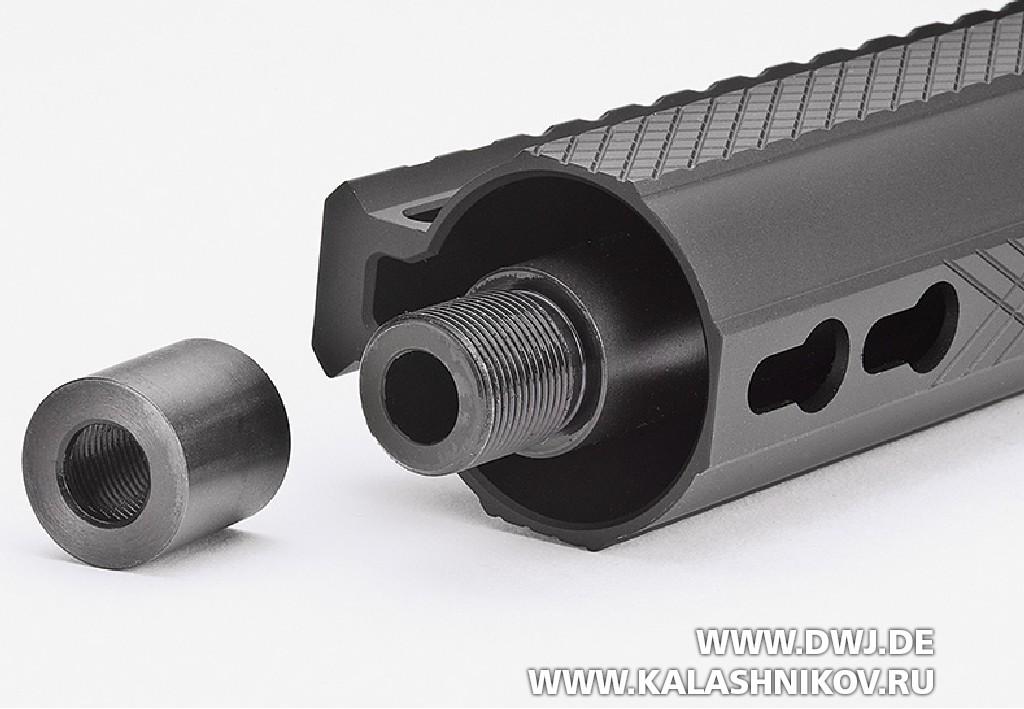 Карабин Hera Arms AR-15 калибра 9 mm Luger. Дульная часть