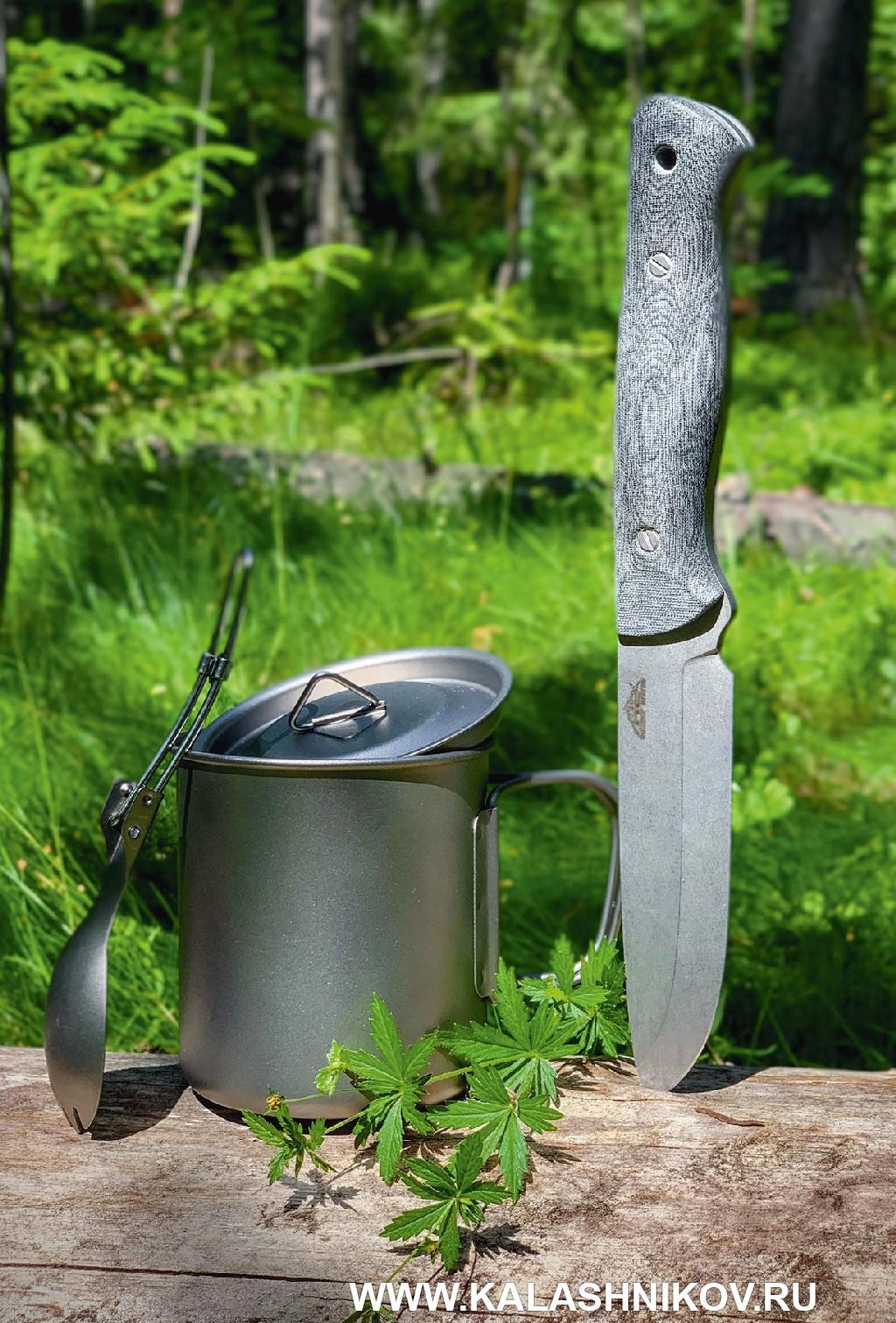 Ножи серии «Бушкрафт» отроссийского бренда N.C. Custom. Фото 5