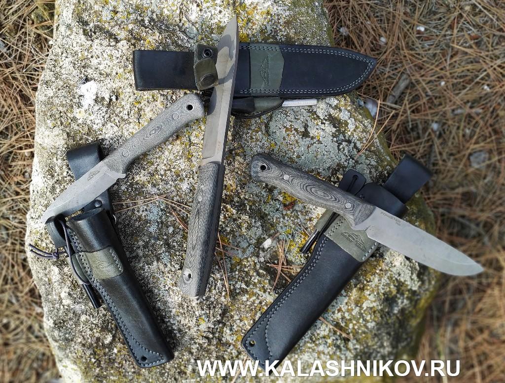 Ножи серии «Бушкрафт» отроссийского бренда N.C. Custom. Фото 2