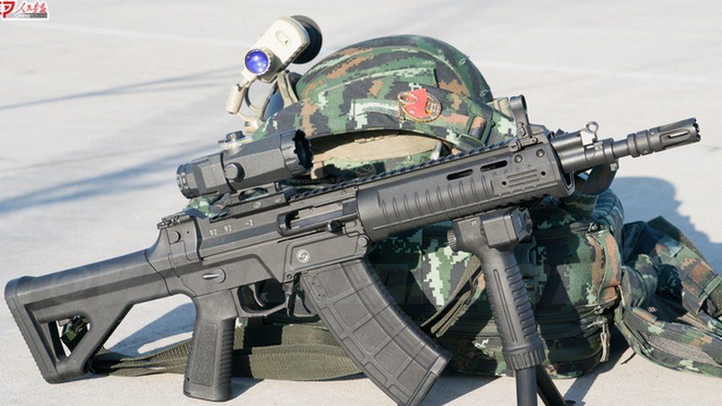 QBZ-191, новое оружие, китай