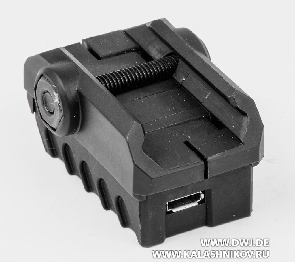 Тренировочный стрелковый модуль MantisX для смартфона. Датчик