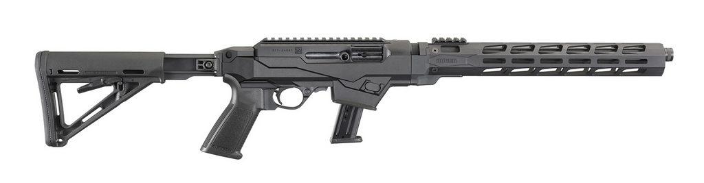 пистолет-карабин, Ruger PCCarbine, ipsc, практическая стрельба, 9х19