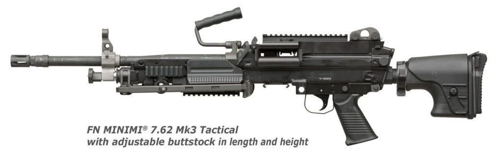 Minimi7,62Mk3, Minimi5.56 Mk3, пулемёт
