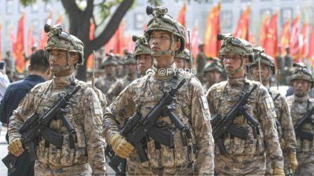QBZ-191, китайская армия
