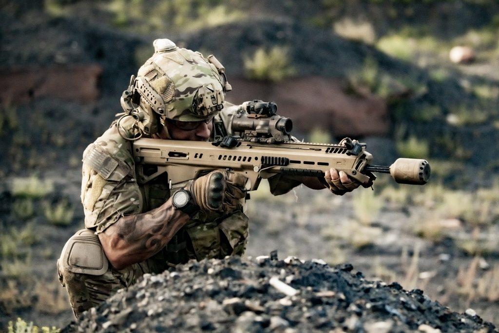 стрельба из General Dynamics RM277, NGSW-AR