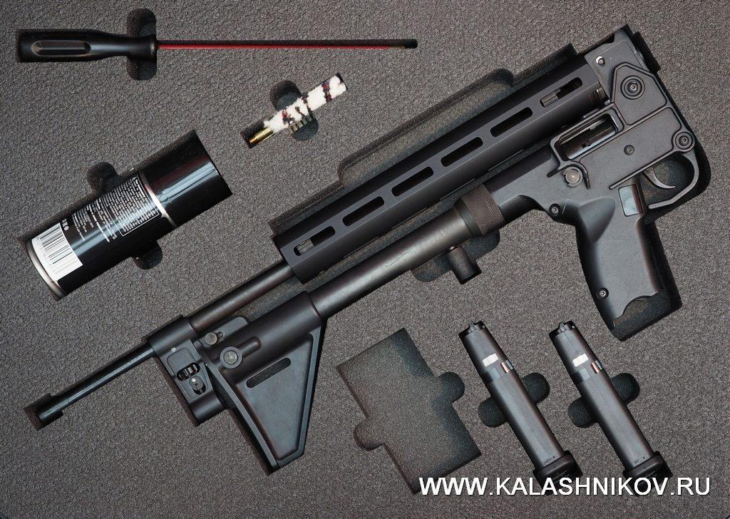 АСК 17-9, 9х19, спутник, пистолет-карабин