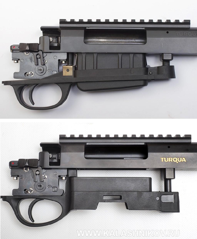 Охотничий карабин ATA Arms Turqua второго поколения (Gen. II). УСМ, приемник магазина